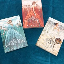 The Selection Series By Kiera Cass Books 1-3 for Sale in Port Charlotte,  FL