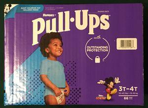 Huggies Girls Pull-Ups Training Pants 3T-4T (66 ct) for Sale in Atlanta, GA