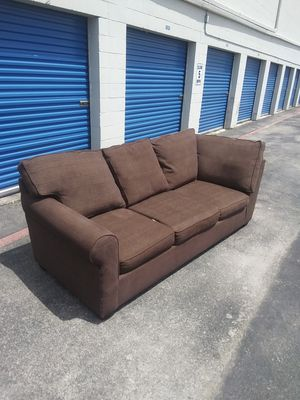 Free Delivery - brown sofa couch for Sale in Houston, TX