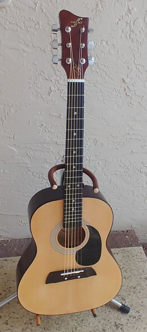 3/4 Size Smaller Scale Acoustic Guitar Perfect for Children or Someone Just Starting Out with Smaller Hands New Strings Tuned Ready to Play for Sale in Deerfield Beach, FL