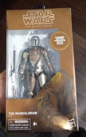 Carbonized Mandalorian Star Wars Black Series NIB for Sale in Seattle, WA