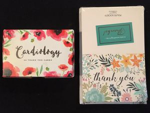 New Thank You cards for Sale in Salem, SD