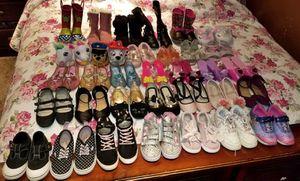 33 Pares de Zapatos de Niña taya 9 en muy buenas condiciones $50 for Sale in Santa Ana, CA
