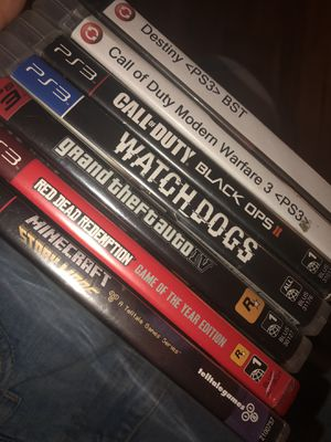 Ps3 Games for Sale in San Diego, CA