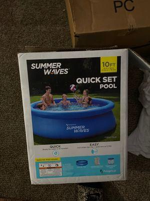 summer waves pool 10x30 for Sale in Marietta, GA