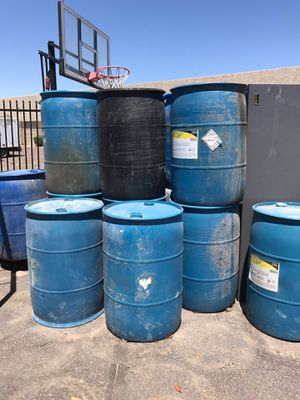 Empty Barrels 3 for$20 for $5 individuality for Sale in Tempe, AZ