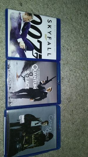 James bond blueray dvd lot for Sale in Poway, CA