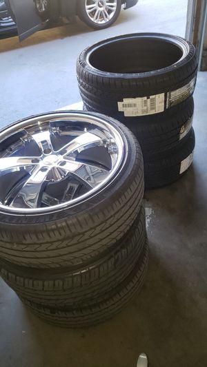 20 inch Zenetti Wheels Set of 4 for Sale in Corona, CA