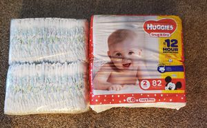 Diapers Huggies size 2 for Sale in Hillsboro, OR