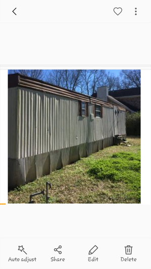 Small 2 bedroom Trailer for Sale in Crystal Springs, MS