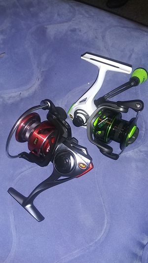 2 Lews spinning reels for Sale in Dallas, TX