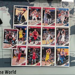 Pack of 13 Optic Panini NBA Cards from 2018-19 [ NEW ] for Sale in Bellevue,  WA