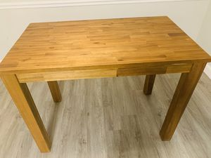 WOODEN BAR HEIGHT DINING ROOM TABLE $150 OBO for Sale in Westlake, OH