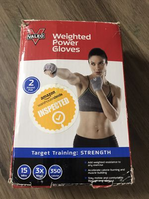 Valeo weighted power gloves for Sale in Plano, TX