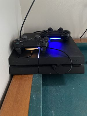 PS4 with two controllers and 9 games for Sale in Winter Haven, FL