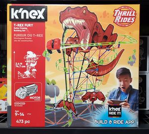 K'nex T-rex Fury Rollercoaster for Sale, used for sale  Irmo, SC