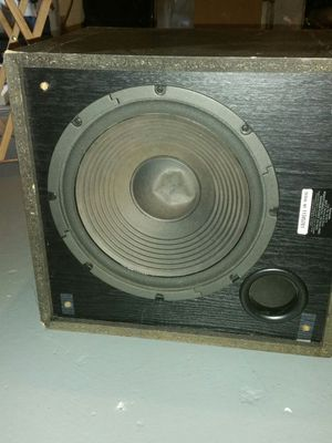 Subwoofer/ denon Amplifier for Sale in Columbus, OH