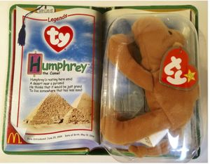 TY legends Teenie Beanie Babies Humphrey the Camel **Super Rare Collectible* McDonald's collection for Sale in Cinnaminson, NJ