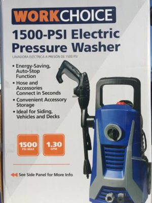Workchoice 1,500 PSI Electric Pressure Washer for Sale in Philadelphia, PA