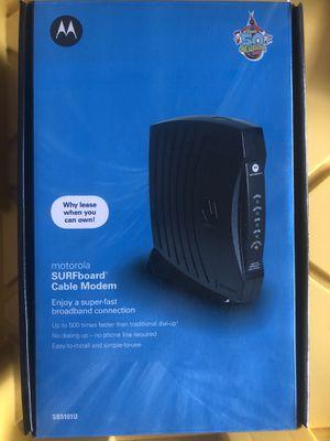Motorola SURFboard SB5101U DOCSIS 2.0 Cable Modem for Sale in San Diego, CA