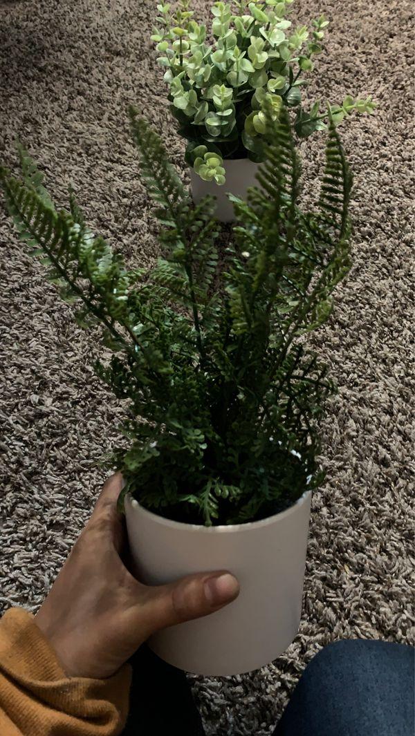 Fake plants decorations