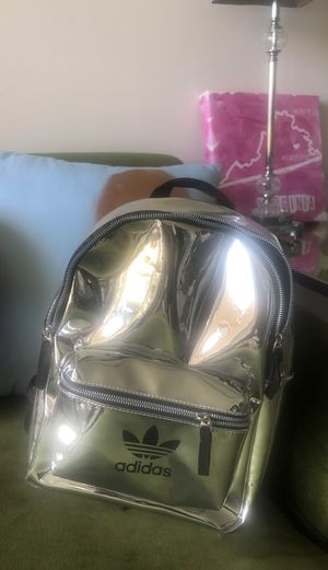 Adidas metallic backpack for Sale in Forest Heights, MD