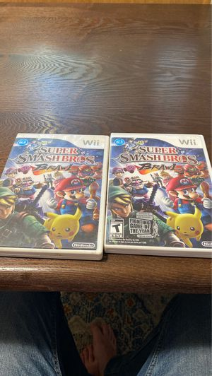 EMPTY Super smash bros brawl cases for Sale in Medford, OR