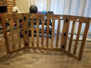 Wooden Pet Gate for Sale in Orange, CA