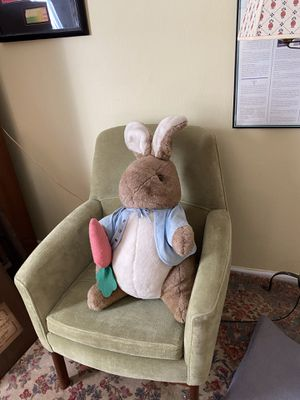 Large Eden Peter Rabbit Plush Doll for Sale in Suffolk, VA
