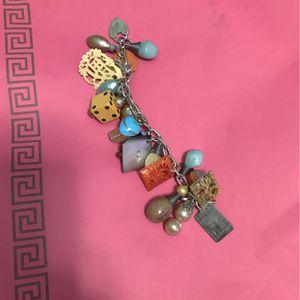 Vintage Pandora Style 22 Charm Bracelet for Sale in Los Angeles, CA