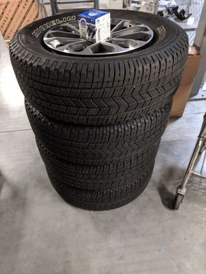 2019 Ford F-150 XLT takeoffs. 18 inch OEM wheels and tires. for Sale in Gilbert, AZ