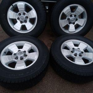 Set De Rines 17 Para Trocas Toyota Estan Asi Como Semiran En Las Fotos $235 for Sale in Dallas, TX