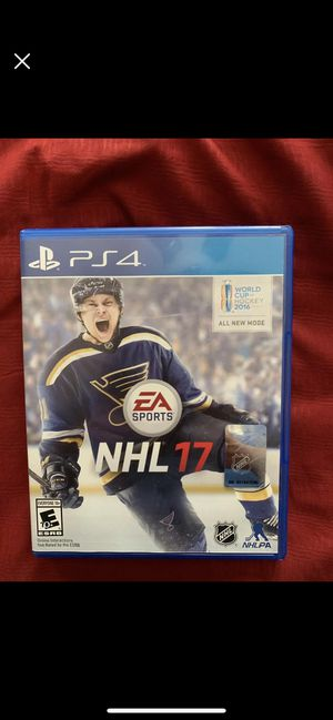 NHL 17 PS4 for Sale in Tampa, FL