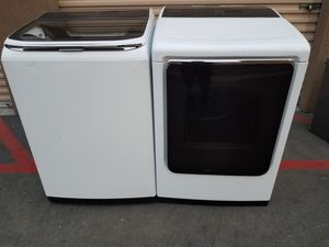 Samsung top load washer gas dryer for Sale in Tustin, CA