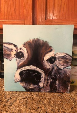Cow painting for Sale in Edinburg, TX