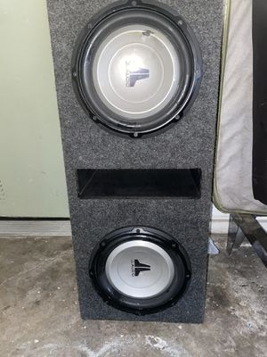 "JL audio 10"" subwoofer. for Sale in Spring Valley, CA"