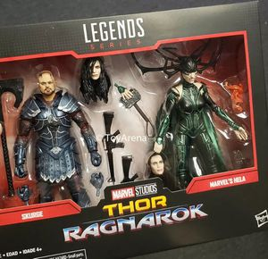 Marvel Legends 80th Anniversary Skurge and Hela 2 pack Figures for Sale in Los Angeles, CA