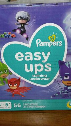 Box pampers Easyups 4T5T for Sale in Springdale,  MD