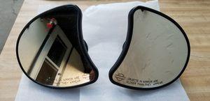 Harley Davidson Black Fairing Mount Mirrors for Sale in Wenatchee, WA