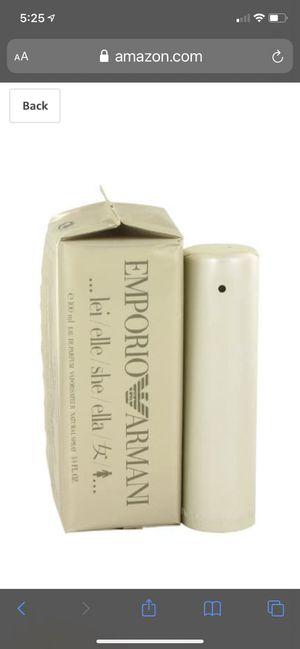 Emporio Armani for Her 3.4 fl oz perfume for Sale in Vancouver, WA