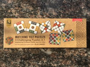 Matching tile 3 different puzzle games for Sale in Katy, TX