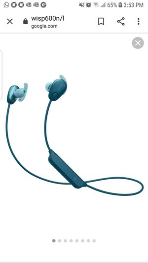Sony Sport in ear Headphones for Sale in Alafaya, FL