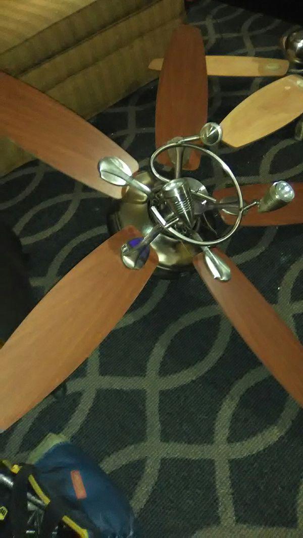2 Hampton Bay 52 inch ceiling fans 25.00 each