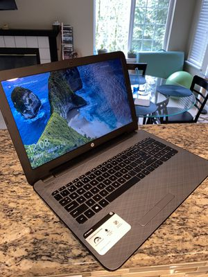 """HP Notebook 15-af159nr. 15.5"""" screen. 750gbs for Sale in Bellevue, WA"""