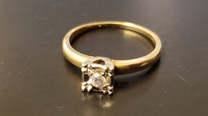 14k diamond ring engagement wedding solitaire for Sale in Arvada, CO