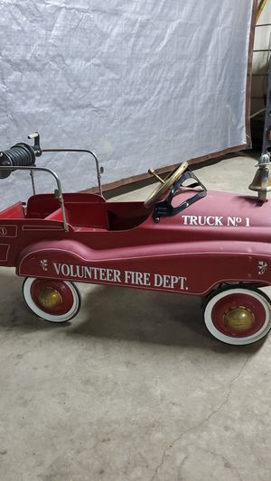 Pedal car fire truck for Sale in Ontario, CA