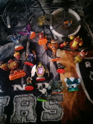 Skylanders figure and pad for Sale in Cochran, GA