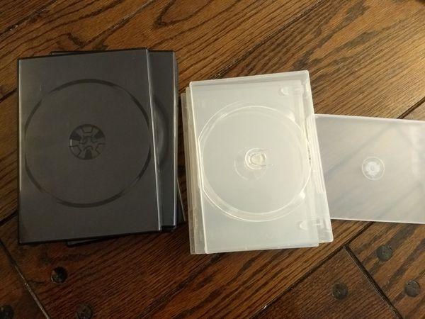 Empty CD/DVD cases