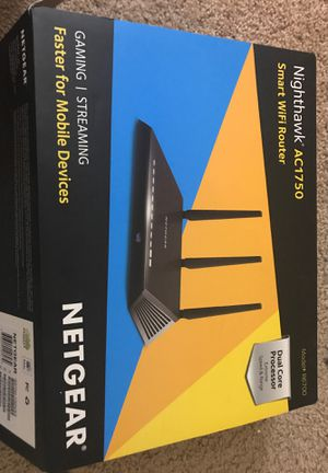 Nighthawk AC1750 Smart WiFi Router Gaming|Streaming for Sale in Charlotte, NC