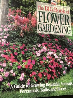 Gently Used Hardcover Book : The BIG Book Of Flower Gardening ~ Time Life Books for Sale in Largo,  FL